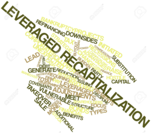 leveraged recap Leveraged recapitalization analysis value creation in an lbo premiums paid analysis recapitalization (recap) accounting refers to accounting for the repurchase, by a corporation, of its own common stock.